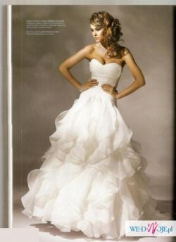 Suknia ślubna Herm's Vanimo - stan idealny, super okazyjna cena!