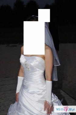 suknia ślubna Herms Bellucia biała 38