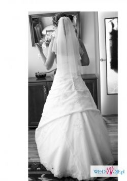 suknia ślubna HERMS GIANELLA, r. 38