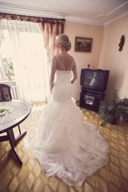 Suknia ślubna- Hiszpanka