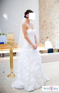 Suknia ślubna hiszpanka White One 6209