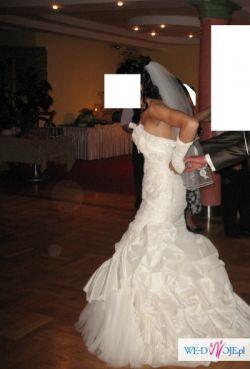 suknia ślubna hiszpańska atelier diagonal