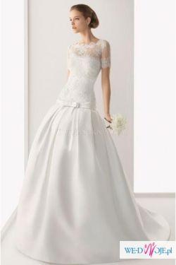 Suknia ślubna Hiszpańskiej Firmy Rosa Clara Suknie ślubne