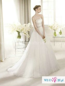Suknia ślubna hiszpańskiej marki San Patrick model Astorga