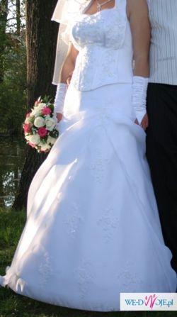 suknia ślubna i wszystkie dodatki za 450 zł