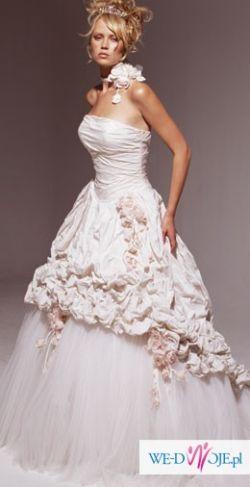 suknia ślubna - Ian Stuart Pompadour