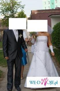 suknia ślubna idealna na 1-wsze miesiące ciąży