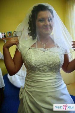 Suknia ślubna idealna na duży biust!