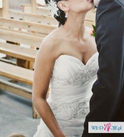 Suknia ślubna IMOGENE + halka + bolerko