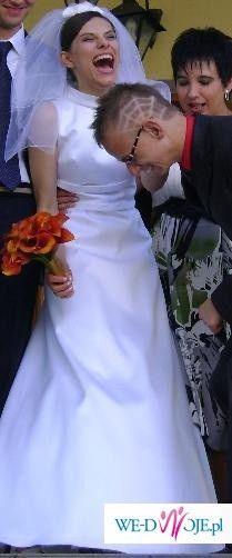 Suknia ślubna inspirowana modą lat 60-tych