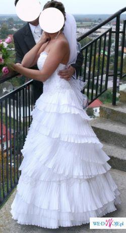 Suknia ślubna IVET 2009 z Emmi Mariage r. 38