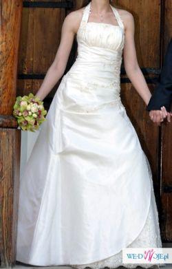 Suknia ślubna Jacqueline 34/36, 170 cm, ecru