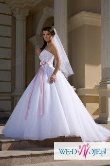 Suknia ślubna jak dla księżniczki:)