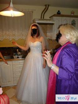 Suknia Ślubna jak księżniczka