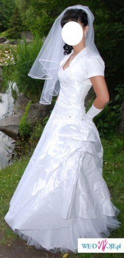 Suknia ślubna - jak nowa + GRATISY
