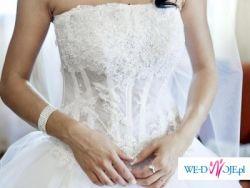 Suknia ślubna jak z bajki...