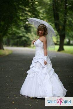 Suknia ślubna jak z bajki!!!!