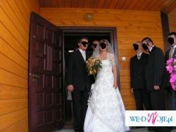Suknia Ślubna jednoczęsciowa, 36/38 , ecru, 400 zł (bolerko i welon gratis)