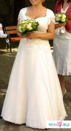 Suknia ślubna jedyna w swoim rodzaju