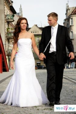 Suknia Slubna Julia Rosa, rozmiar 38, biała