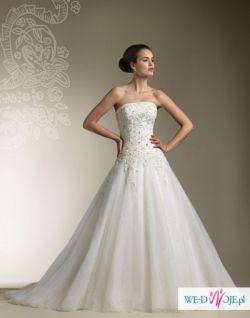 Suknia ślubna Justin Aleksander 8615 - do negocjacji