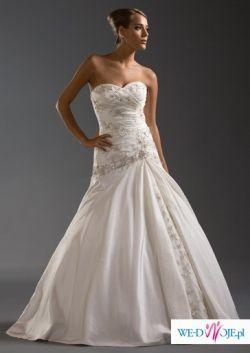 Suknia ślubna Justin Alexander 8349 ecru