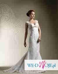 Suknia ślubna JUSTIN ALEXANDER model 8595 rozmiar 34/36