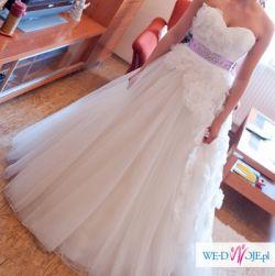 Suknia ślubna Justin Alexander- ZJAWISKOWO PIĘKNA