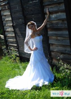 Suknia ślubna, kamizelka męska