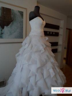 Suknia ślubna KASKADA