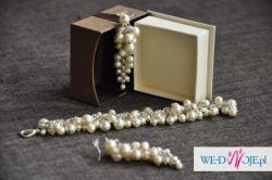 Suknia ślubna - klasyka, elegancja, + halka, buty, kolczyki, bransoleta