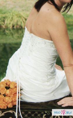 suknia ślubna kolekcja 2011 z salonu mody ślubnej ANNA