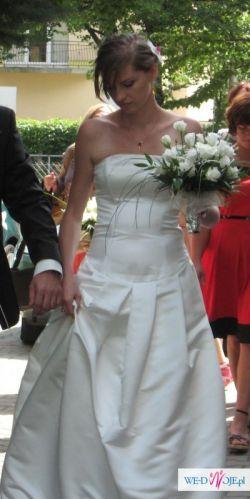 Suknia ślubna kolekcji Jesus Peiro roz 36-38 cru