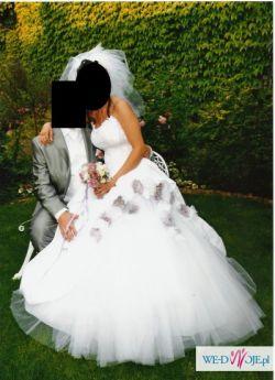 Suknia ślubna kolekcji Urszula Mateja TANIO