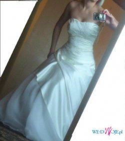 suknia slubna kolor ivory r.38 tylko 350 zł