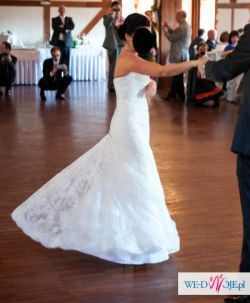 suknia ślubna koronkowa na wzór white one 424