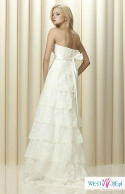 suknia ślubna koronkowa Nabla