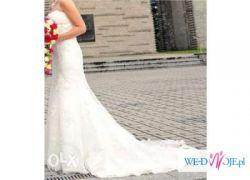 Suknia slubna - koronkowa - SINCERITY 3664 - ivory r.M