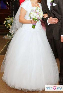 Suknia ślubna- księżniczka