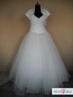 suknia ślubna-księżniczka