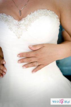 Suknia ślubna księżniczka. Justin Alexander  Lilian West 6317