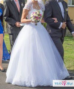 suknia ślubna księżniczka Kinga
