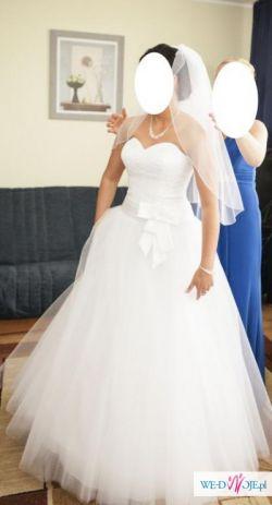 Suknia Ślubna Księżniczka roz. 38