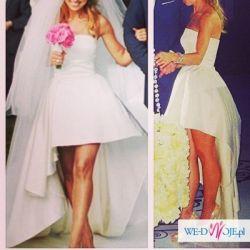 Suknia ślubna La Mania model Ewy Chodakowskiej