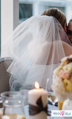 Suknia ślubna La Sposa Fanal z dwoma welonami