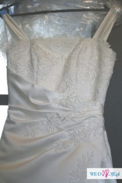suknia ślubna La Sposa model Festin rozm 34 śmietanka