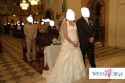 Suknia Ślubna LA SPOSA na rozm.40 (moze być na ok 4 miesiąc ciąży)