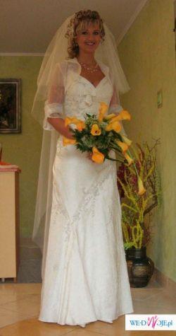 suknia slubna la sposa satelie