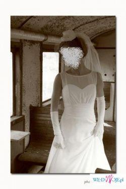 suknia ślubna lata 40-te