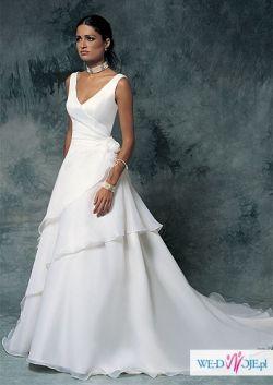Suknia ślubna Lisa Ferrera, Cosmobella 7099 - nowa!